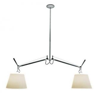 Artemide Tolomeo Suspension Lamp - 2 Arms