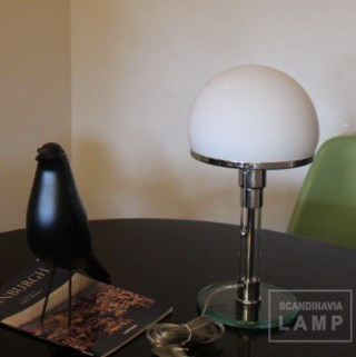Bauhaus Lamp and Eames Birds