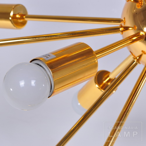 The bulb of designer Sputnik Pendant Lamp