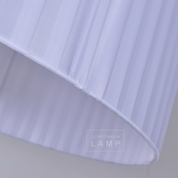 white fabric shade for floor lamp