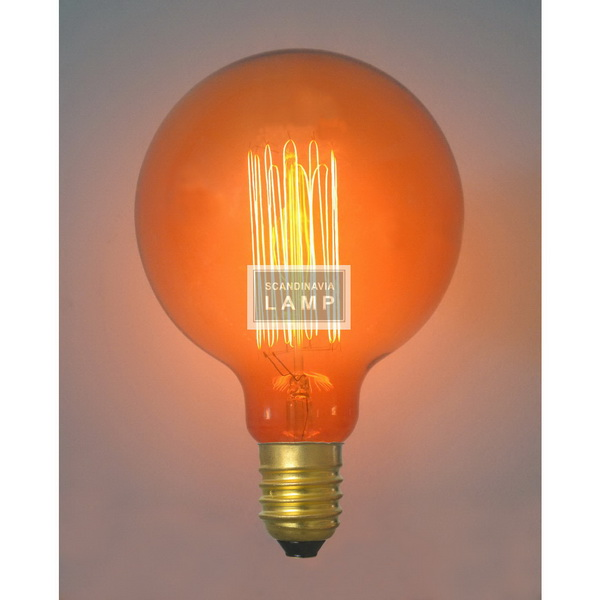 Vintage edison bulb,Filament Bulb G95,American industrial Trcking lighting