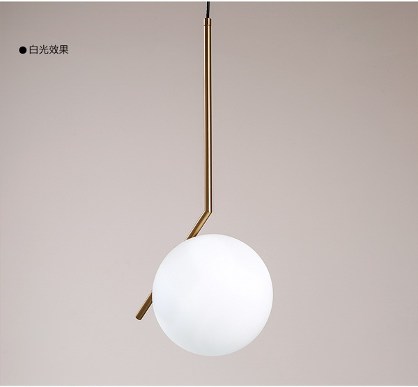 IC Bras Pendant lamp|modern DIY lighting seires