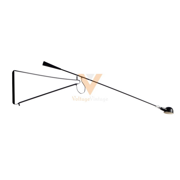 Industrial wind wall long arm swivel wall lamps