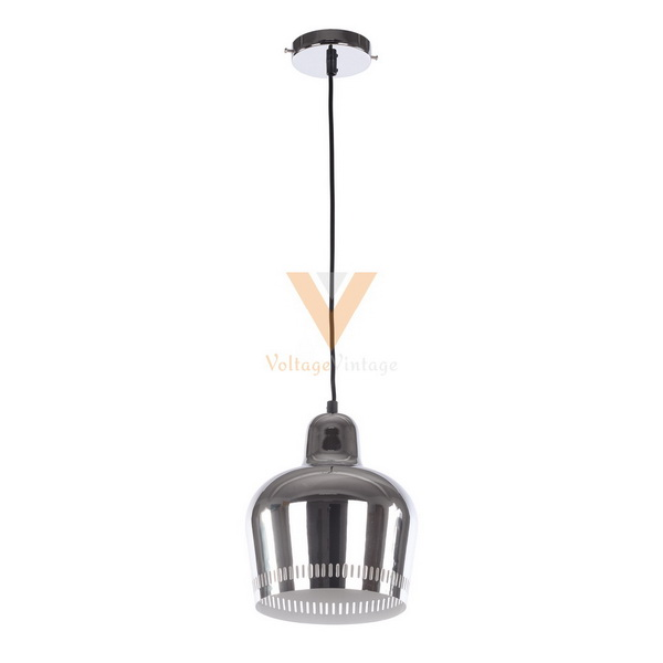 Chrome Artek Golden Bell Pendant Lamp