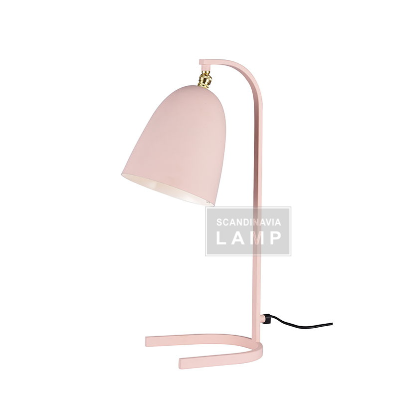 2017 modern new design lamp makalong U stye table lamp