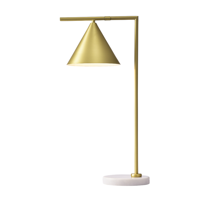 FLOS Table Lamp Brass with Marble Base