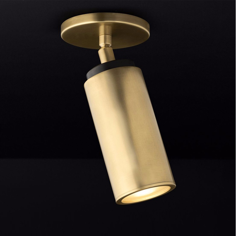 Brass Copper dome light to shoot light