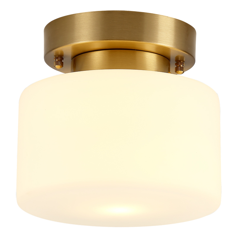 contracted Brass glass Ceiling Lights