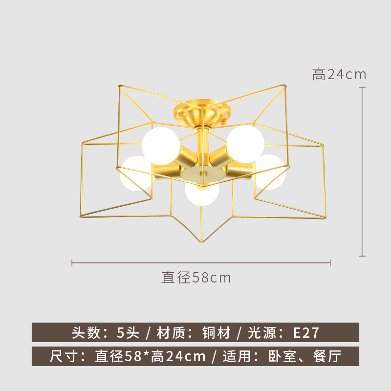 Differnce of lampholder of brass ceiling lamp