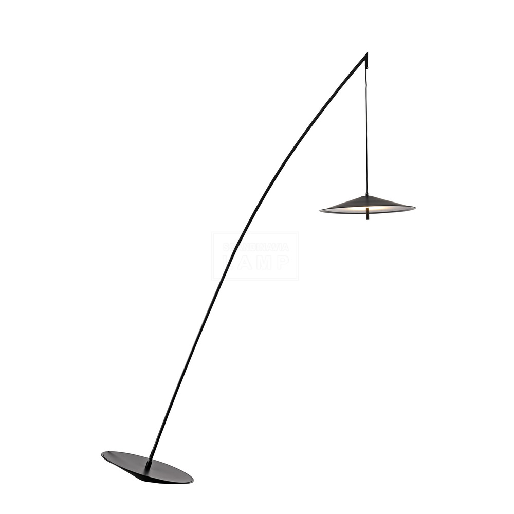 Nordic creative minimalist designer  iron  fishing floor lamp